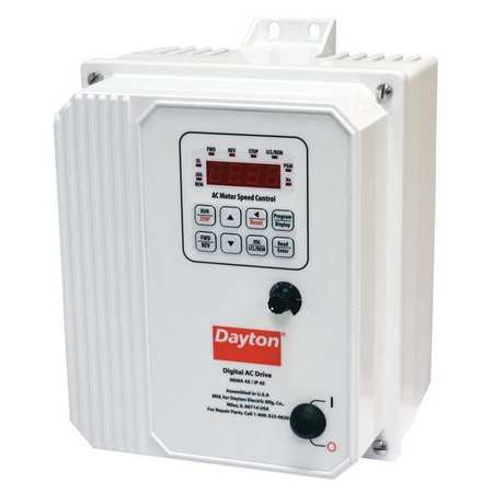 Variable Freq Drive,5 HP,0-480VAC