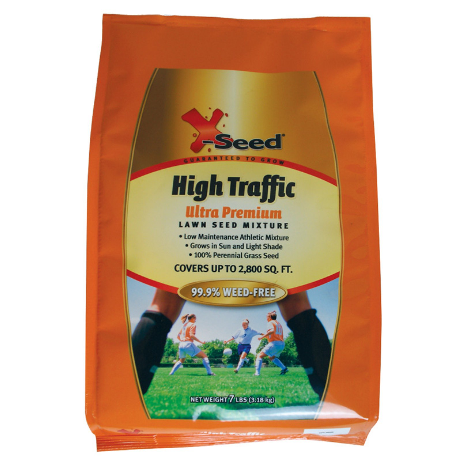 X-Seed 7 lbs. High Traffic Ultra Premium Lawn Seed Blend