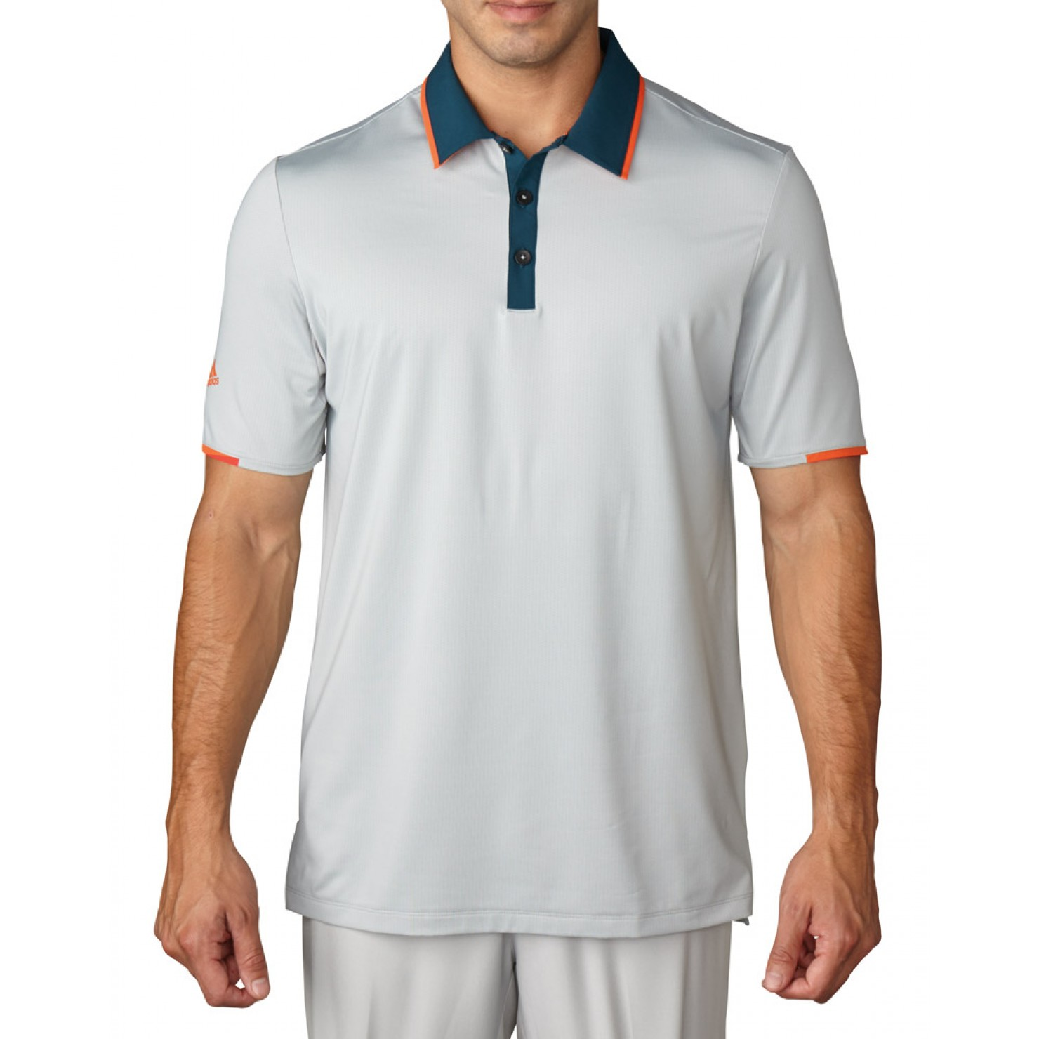 Adidas Golf ClimaCool Tipped Performance Polo - Closeout