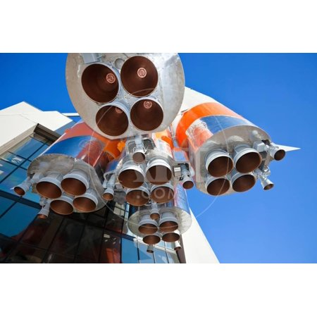 Details of Space Rocket Engine Print Wall Art By blinow61 (Rocket Engines G)