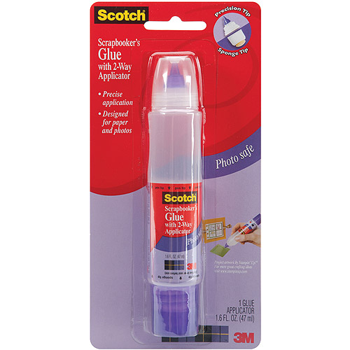 3M Scotch Scrap-booker's 2-Way Glue, 1.6 oz