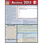 BarCharts 9781423220268 Access 2013 Quickstudy Easel