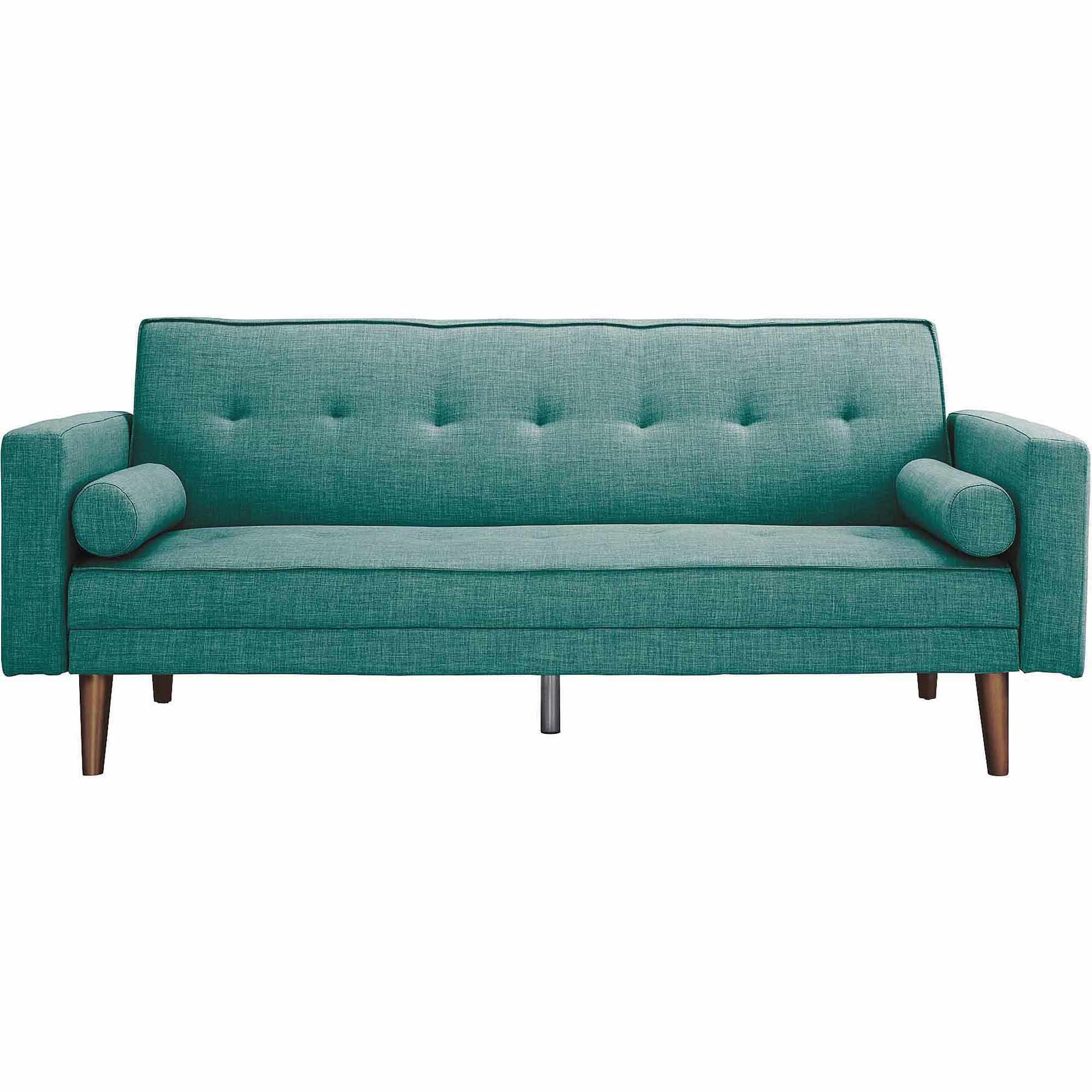 Novogratz Vintage Linen Upholstered Futon, Multiple Colors by Dorel Home Products