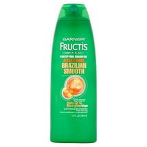 Shampoo & Conditioner: Garnier Fructis Brazilian Smooth