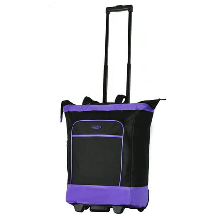 Olympia USA Deluxe Rolling Shopper Tote Rolling Shopper Tote