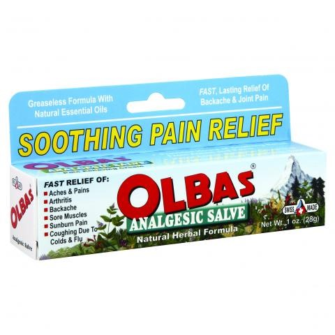 Olbas Analgesic Salve, 1 Fl Oz