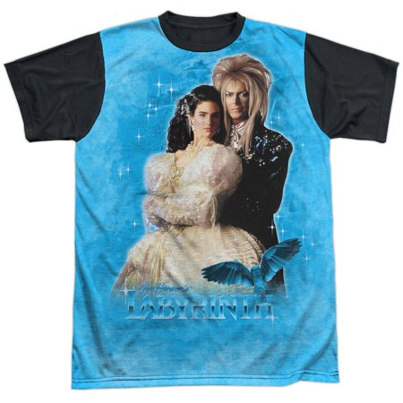 Adult Couples Movies (Labyrinth Family Fantasy Adventure Movie Dream Couple Adult Black Back)