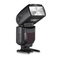 Powerextra DF-400 Speedlite Flash Light For Canon Nikon Pentax Samsung Fujifilm Olympus Panasonic Sigma Minolta Leica Ricoh DSLR Cameras and Digital Cameras with Single-Contact Hotshoe