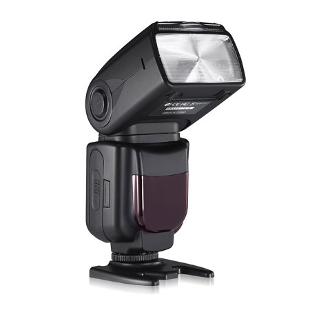 Powerextra DF-400 Speedlite Flash Light For Canon Nikon Pentax Samsung Fujifilm Olympus Panasonic Sigma Minolta Leica Ricoh DSLR Cameras and Digital Cameras with Single-Contact