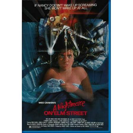 Nightmare On Elm Street Movie Poster 24inx36in Entertainment Decor (Nightmare On Elm Street Pictures)