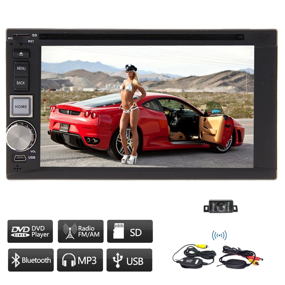 BT Music Universal 2 Din Audio RDS In Deck Automotive Rad...