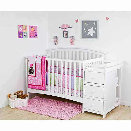 Dreamonme Niko 5 in 1 Convertible Crib with Changer White