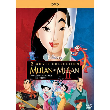 Mulan / Mulan II (2 Movie Collection) (15th Anniversary Edition) (DVD) - Disney Halloween Movie List