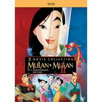 Mulan / Mulan II (2 Movie Collection) (15th Anniversary Edition) (DVD)