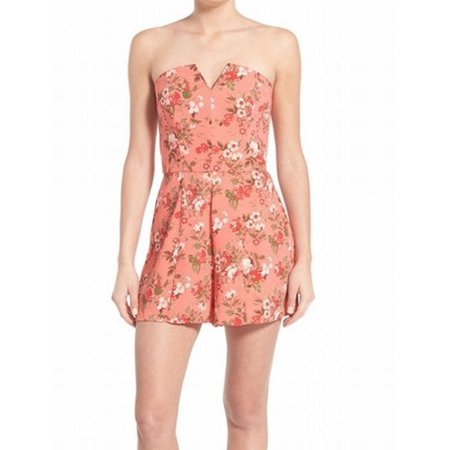Ladies Leith Preowned Size Large Floral Sexy Romper Reputation First Women's Clothing Clothing, Shoes & Accessories