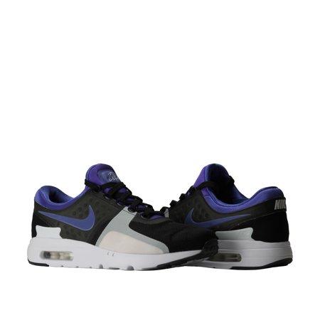 b9dd595e90a Nike Air Max Zero QS Black Violet-White Men s Running Shoes 789695-004 -  Walmart.com