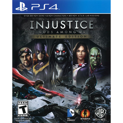 Injustice: Gods Among Us Ultimate Edition (Playstation 4) by High Voltage Software, Inc.