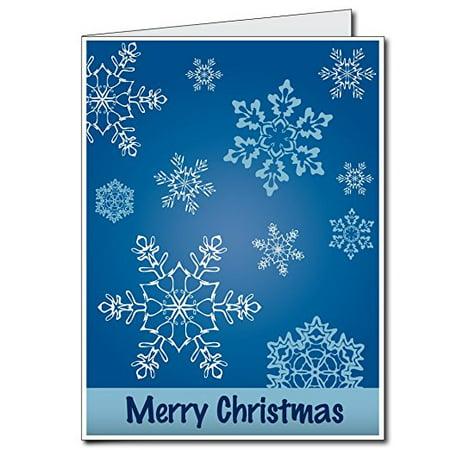 2'x3' Giant Christmas Card (Snowflakes), W/Envelope (Giant Snowflakes)