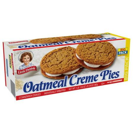 Walmart Grocery - Little Debbie Big Pack Oatmeal Creme Pies, 32 oz