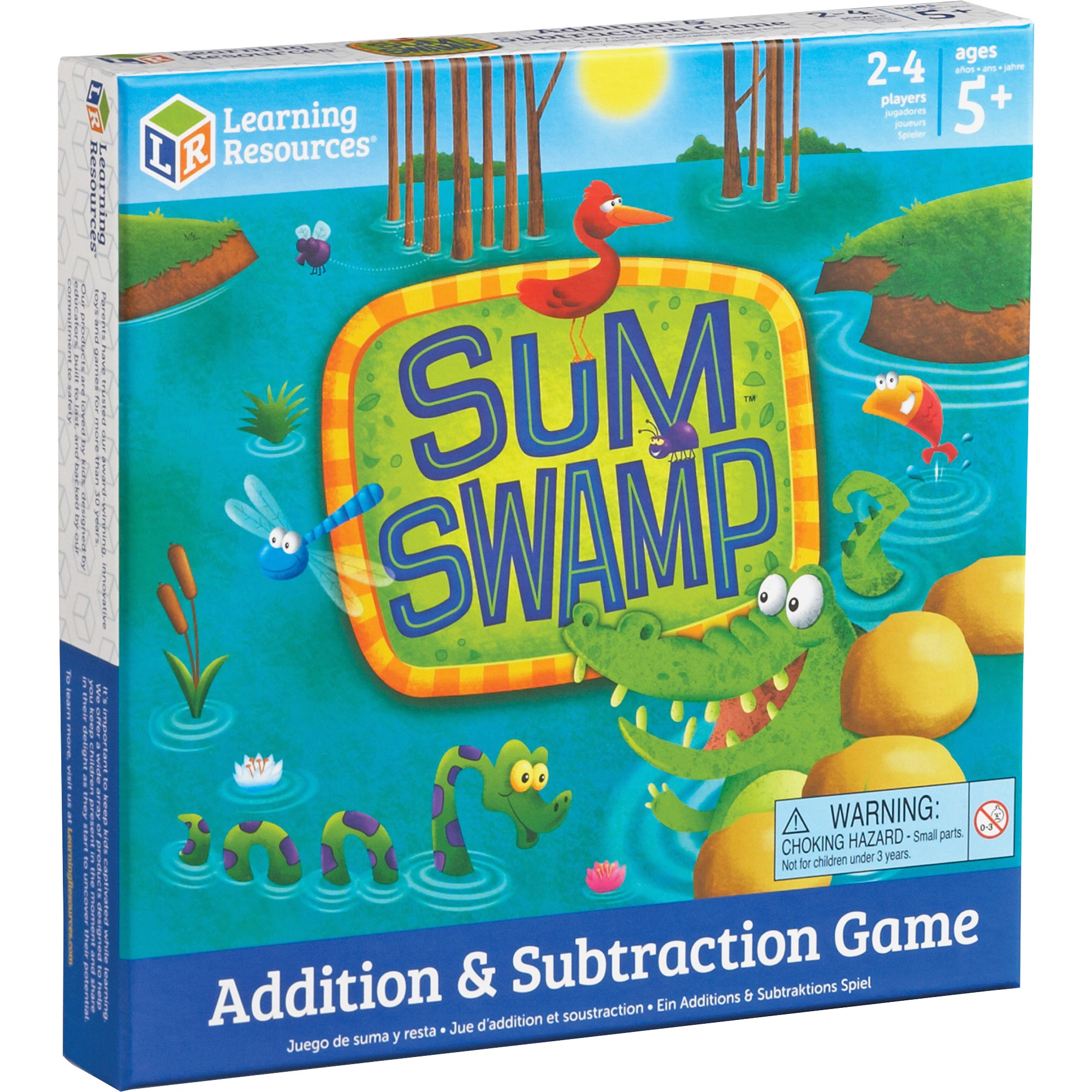Learning Resources, LRNLER5052, Sum Swap Addition/Subtraction Game ...