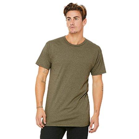 Bella Tee Shirts (Bella + Canvas 3006 Men's Long Body Urban T-Shirt )