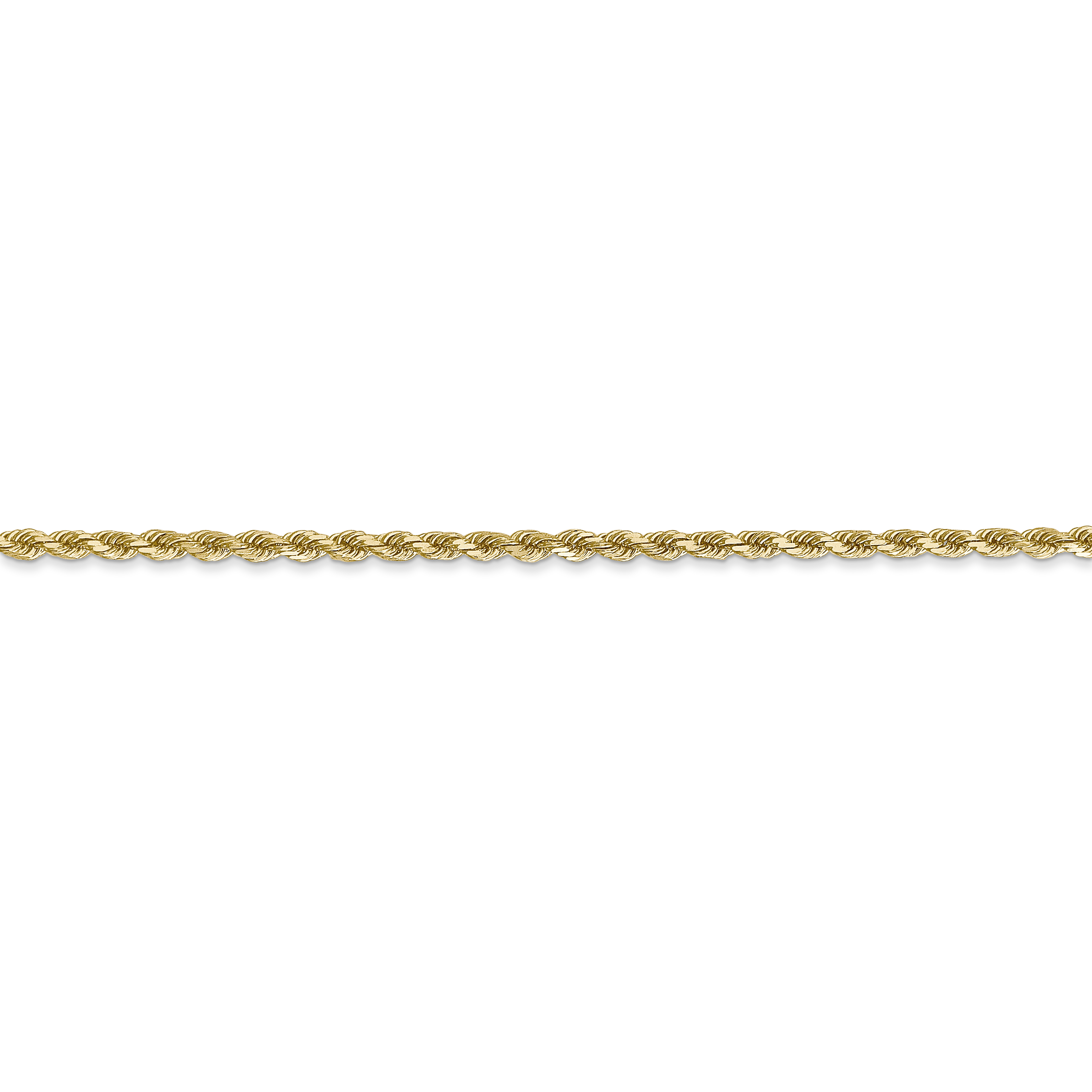 14k Yellow Gold 2mm Link Rope Chain Anklet Ankle Beach Bracelet Handmade Fine Jewelry Gifts For Women For Her - image 2 de 4