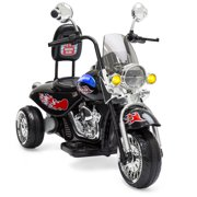 Best Choice Products 12V Kids Ride-On Motorcycle Chopper w  Built-In Music, MP3 Plug-In (Black) by