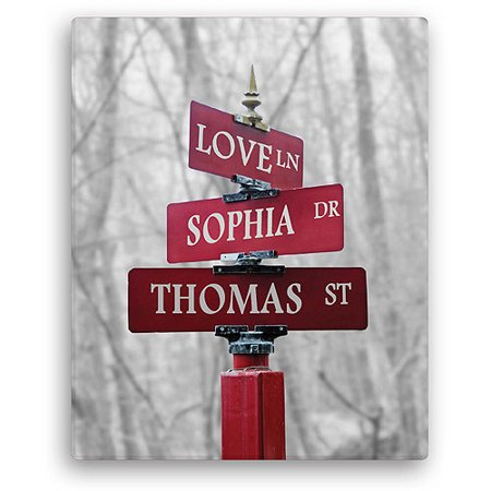 Personalized Signs Of Love 16  X 20  Canvas  Color