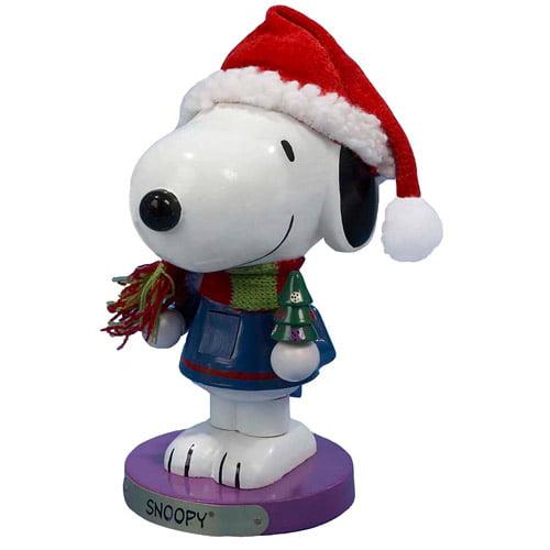 "Kurt Adler 10"" Peanuts Snoopy Nutcracker"