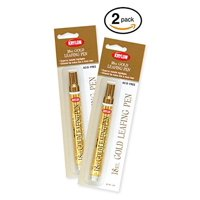 Krylon 18 Kt Gold Leafing Pen Provides The Appearance Of Metallic Plating To Accent A Variety Of Art Or Craft Projects