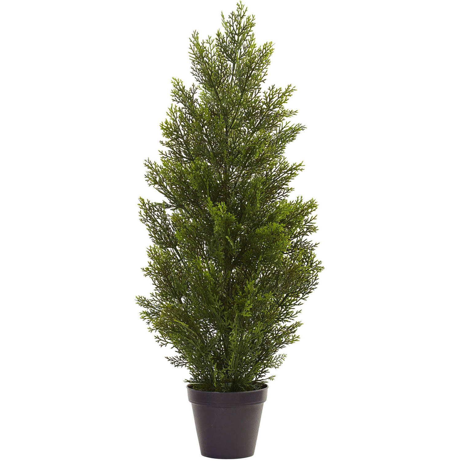 Nearly Natural 3' Mini Cedar Pine Tree, Indoor/Outdoor
