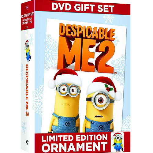 Despicable Me 2 (Limited Edition) (DVD + Carl Minion Ornament) (Widescreen)