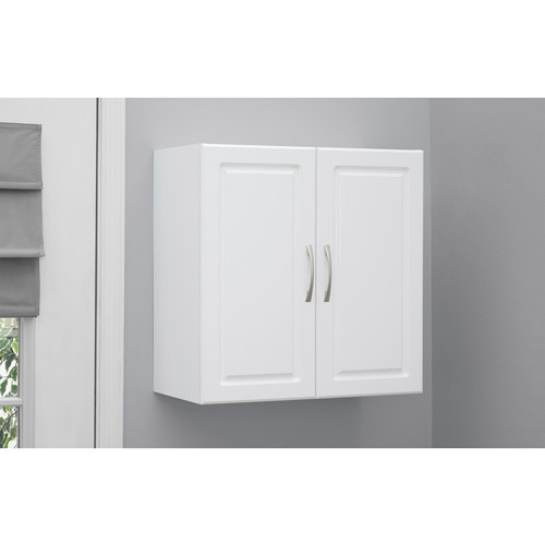 walmart storage cabinets white systembuild 24 quot wall cabinet white walmart 28141
