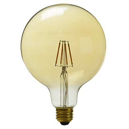Globe 60w Equivalent Dimmable Amber G40 Vintage Led Decorative Light Bulb Antique Style