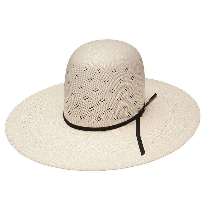 Resistol Mens 20X Conley Straw Cowboy Hat Natural 7 1//8