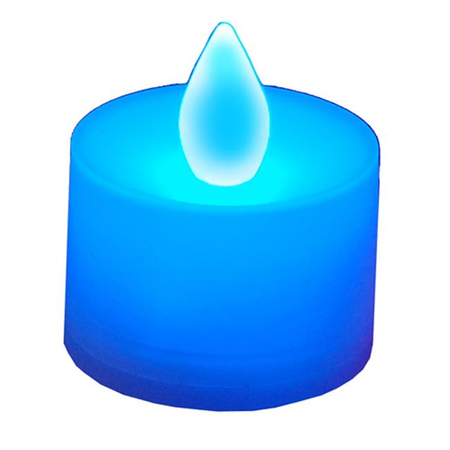 JH Specialties 80212 LED Battery Operated Tea Lights- Blue by JH Specialties Inc.