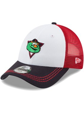 2c4d7c3b7b4 Product Image Boston Red Sox New Era Toddler Mascot Muse Trucker 9FORTY  Adjustable Snapback Hat - White