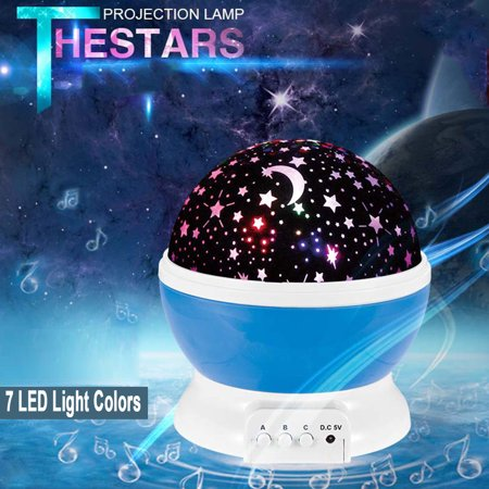 Novelty Luminous Toys Romantic Starry Sky LED Night Light Projector For Children](Starry Night Centerpieces)