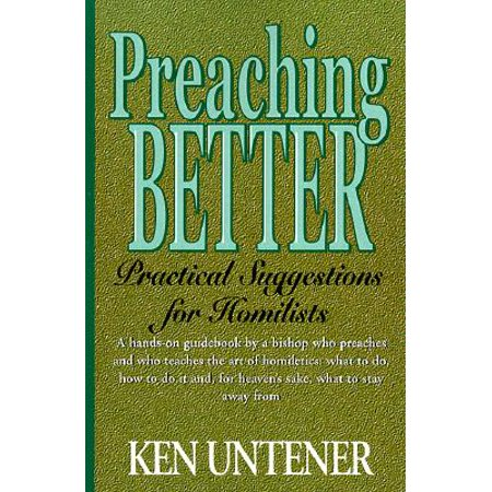Preaching Better : Practical Suggestions for Homilists - Bible Purchase Suggestions