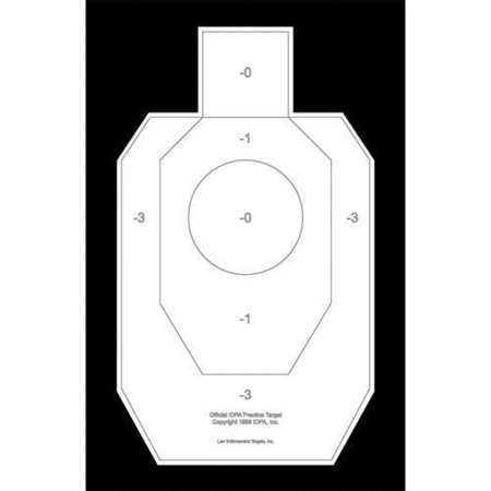 Official Idpa Paper Practice Target  Pack Of 50