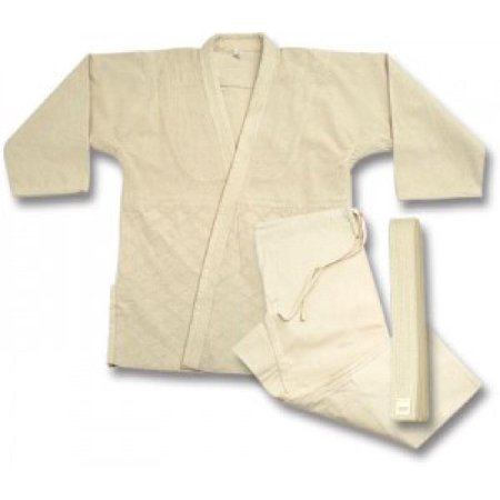 Judo  jiu-jitsu Uniform Single Weave un-Bleached uniform set 575u Double Weave Judo Uniform