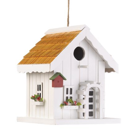 Zingz & Thingz Coastal Cottage 9 in x 7 in x 7 in