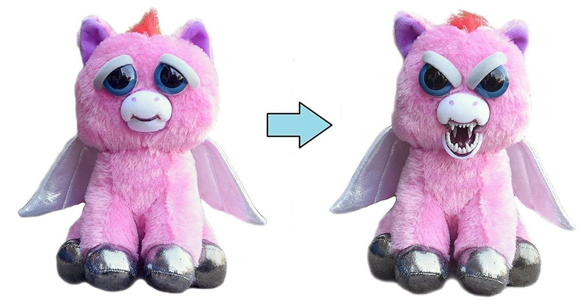 Feisty Pets Plush Sparkles Rainbowbarf Pegasus by William Mark Corp