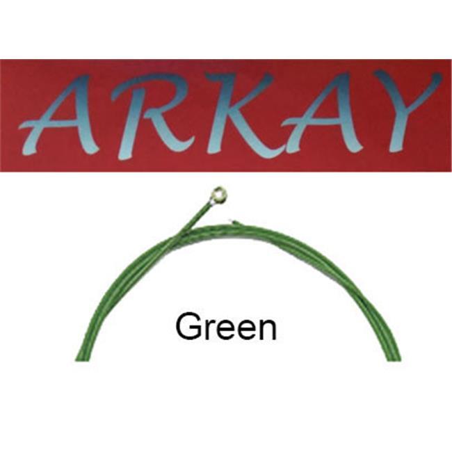 Arkay Discount RK. A12G Premium Acoustic 12 Gauge Guitar Strings Light, Green by