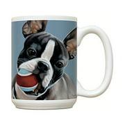 Boston Terrier Mug - Large White Coffee Mug