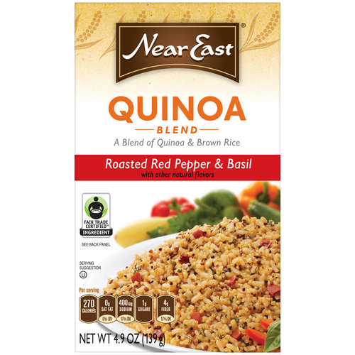 Near East Quinoa Blend Roasted Red Pepper & Basil, 4.9 oz