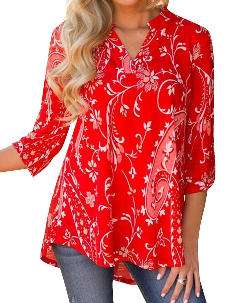Womens Blouses Shirts Walmart Com