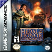 Medal of Honor: Underground Shooting Video Game for Game Boy Advance