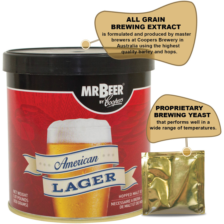 Mr.Beer Home Brewing Starter Kit Collections - Walmart.com