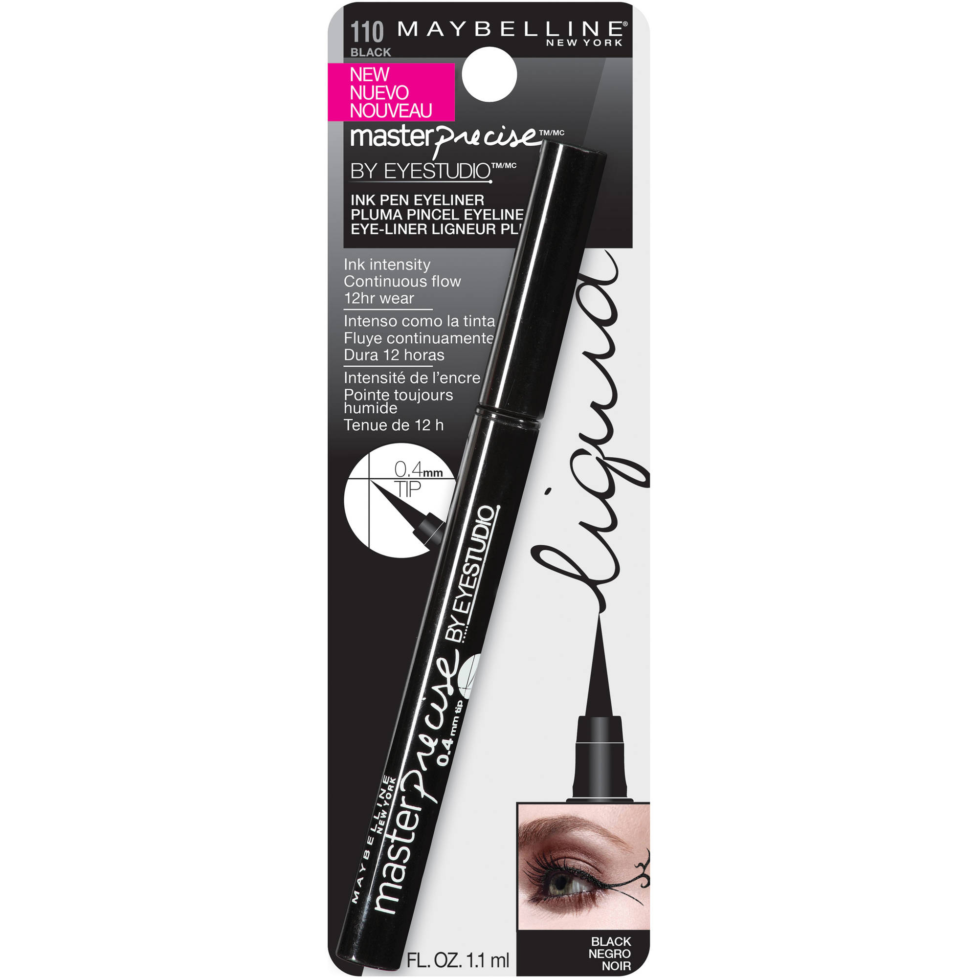 Maybelline New York Eyestudio Master Precise Ink Pen Eyeliner